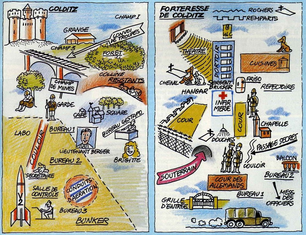 Carte Colditz